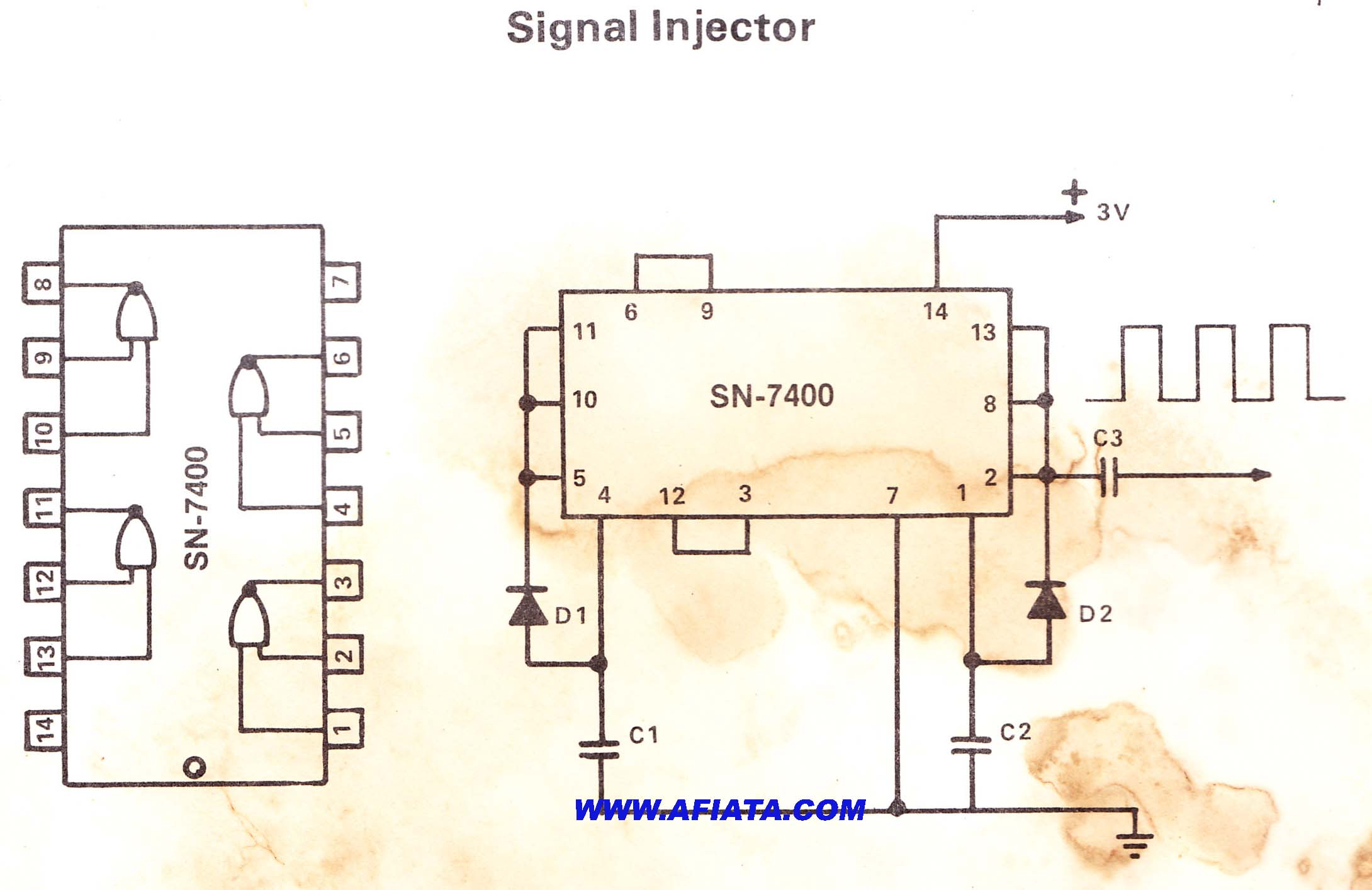 26 Gauge Wire >> signal generator | Electronic Circuit Diagram and Layout