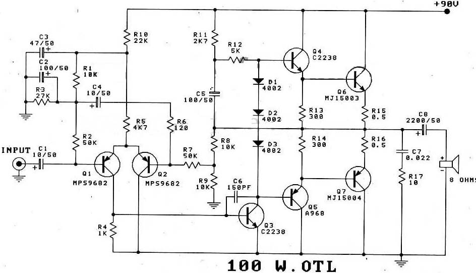 transistor power amplifier